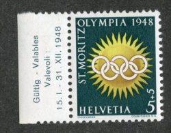 5400 Swiss 1948  Mi.# 492  **  Scott # B170  (cat. .80€) -- Offers Welcome! - Ungebraucht
