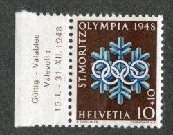 5401 Swiss 1948  Mi.# 493  **  Scott # B171  (cat. .80€) -- Offers Welcome! - Ungebraucht