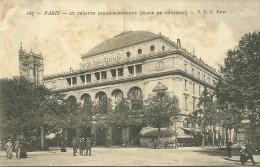 PARIS 4 -le Théâtre Sarah-Bernardt (place Du Chatelet)                          -- P P C 167 - Arrondissement: 04