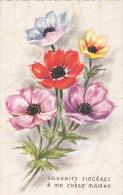 Souhaits Sincères à Ma Chère Maman - Des Fleurs - Cartes Postales