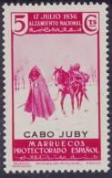 1935-1936 - CABO JUBY - EDIFIL Nº 87 *** MNH -  MUY BONITO - Cabo Juby