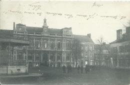 Boussu -Aucune Dénomination ... Grand'Place , Hôtel De Ville , Kiosque - 1906 ( Voir Verso ) - Boussu