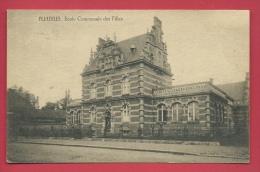 Fleurus - Ecole Communale Des Filles - 1921 ( Voir Verso ) - Fleurus