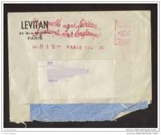 EMA Levitan  4Francs 1955 Paris 114 - Affrancature Meccaniche Rosse (EMA)