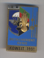 LÉGION 6° REG Et PARA 17° RGP - DÉTACHEMENT GÉNIE KOWEÏT 1991 - Armée De Terre