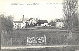 39 - CRISSEY - Jura - Vue Sur L'Église - France