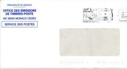 MONACO. Enveloppe Ayant Circulé En 2005. Exposition Canine. - Honden
