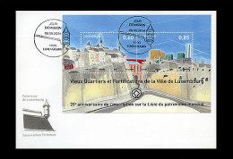 Luxemburg / Luxembourg - MNH / Postfris - FDC Unesco Stad Luxemburg 2014 - Luxemburg