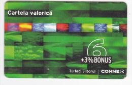 Romania ,  Prepaid Phonecard -  Connex , 6 Euro ,  Used - Romania