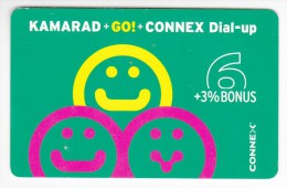 Romania ,  Prepaid Phonecard -  Connex , Camarad , 6 Euro ,  Used - Romania
