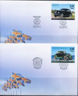 PA1313 Aland 2005 Early Cars 4v  First-day Cover MNH - Aland