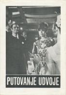 Film, Movie, Cinema Program - TWO FOR THE ROAD - Audrey Hepburn, Albert Finney,  OLD EX YU MOVIE PROGRAM - Programma's