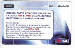 Italy ,  SIM Card , SIMPLUS,  Used - Italy