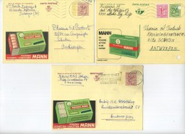 Aarteselaar :  3 Briefkaarten Met Reclame Van Dr. Mann ( Zie Scan ) - Aartselaar