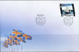 PA1323 Aland 2006 Sailboat First-day Cover MNH - Aland