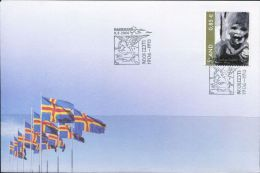 PA1328 Aland 2006 Painting Children First-day Cover MNH - Aland