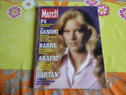 SYLVIE VARTAN MAGAZINE PARIS MATCH N) 1481 Octobre 1977 .......REGARDEZ MES VENTES ? J'EN AI D'AUTRES - Magazines: Abonnements
