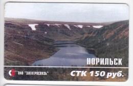 Russia  Russie   , Phonecards  , Norilsk  ,  Landscapes , Used - Landschappen
