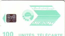 DJIBOUTI LOGO 100U SC5 9 N° TGE UT LUXE - Djibouti