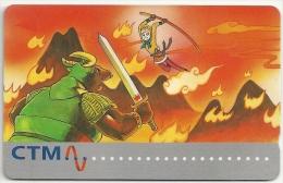 Macau - Tang Xuan Zang Fairy Tales Reprint, 28MACA,  1996,  Used - Macau