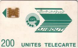 DJIBOUTI LOGO 200U SC4 OB N° 8787 IMPACTS UT - Djibouti