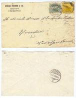 """Australien/Western Australia, 1909, Briefkuvert, Frankiert Mit """"one Half Penny, Grün"""" Und Gelb  (9226W) - 1854-1912 Western Australia"""