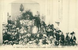 Cannet Du Luc  Pendant Le Chant De L'Evangile Souvenir Du 20 Octobre 1910  Cpa  Parfait Etat - Frankrijk