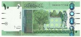 Sudan - 10 Pounds 2011, - Sudan