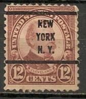 Timbres - Amérique - Etats-Unis - 1922/25 - 12 Cents - - Etats-Unis