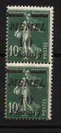 Memel,54b,54bI,senkrechtes Paar,xx,gep. - Memelgebiet