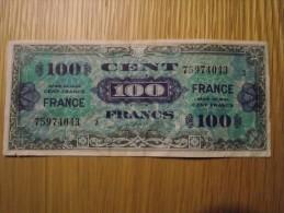 Billet De 100 F Série De 1944 En Bon état. - 1945 Verso Frankreich