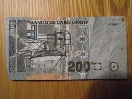Billet Du CAP VERT : 200 Escudos - Cap Verde