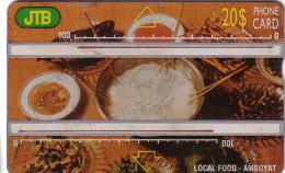 BRUNEI LANDIS  LOCAL FOOD 20$ UT N 451A...... BAD CONDITION RAYURES - Brunei