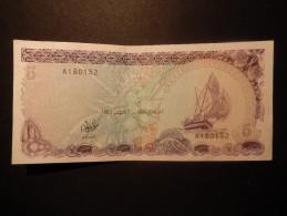 Maldives Monetary 5/five Rufiyaa - Maldive