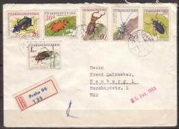Tschechoslowakei / CSSR , Satzbrief , 1962 , Mi. Nr. 1371 - 1376 - Cecoslovacchia