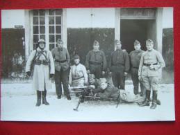 "MILITARIA - CARTE PHOTO - 31e REGIMENT - MITRAILLEUSE - "" RARE "" - - Militaria"