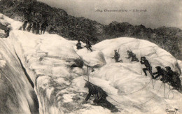 05 : Briançon, Militaires, Chasseurs Alpins à La Corde, Animé, écrite ( N° 3059 ) - Briancon
