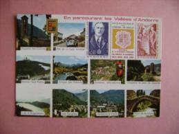 CPM ANDORRE - EN PARCOURANT LES VALLEES D ANDORRE - Andorra
