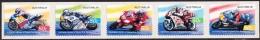 Australie - Australia 2004 Yvert 2273-77, Motorcycle, Grand Prix Racing, Adhesive Strip -  MNH - Mint Stamps