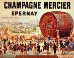 @@@ MAGNET - Champagne Mercier Epernay - Publicitaires