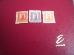 Ds 18- ) Timbres  Collection  Chine Populaire  Année;  Y.T. N° 74-76-77 Sans Gomme  Neuf** - 1949 - ... République Populaire