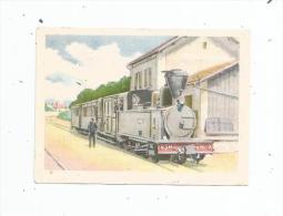 IMAGE CIBON , Série éducative , LES CHEMINS DE FER , Tramways De Seine Et Marne , Matériels Et Gares - Other