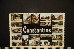 CP, Algérie, CONSTANTINE Multivues Souvenir N°1136 Edition CAP Voyagée FM - Konstantinopel