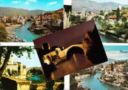 6 Postcards: MOSTAR - THE BRIDGE - YU - Joegoslavië