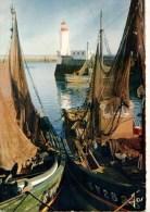 29----GUILVINEC--bâteaux Séchant Leurs Filets Dans Le Port---voir 2 Scans - Guilvinec