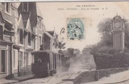 DINARD : Le Tramway à Vapeur Rue Du Prieuré - Superbe ! - Dinard