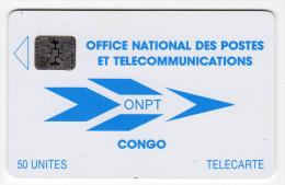 CONGO REPUBLIQUE ONPT REF MV CARDS CNR-4  SC4  50 U - Congo