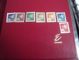 Ds 27 ) Timbres  Collection  Chine  Année;1951  Y.T. N° 853 /56+858  +etc Neuf** - Neufs