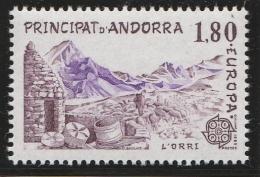 Andorre Français 1983 - Timbres Yvert & Tellier N° 313 Et 314 - Unused Stamps