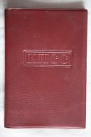 USSR Soviet Communist ID Card PLASTIC COVER - Documenti Storici